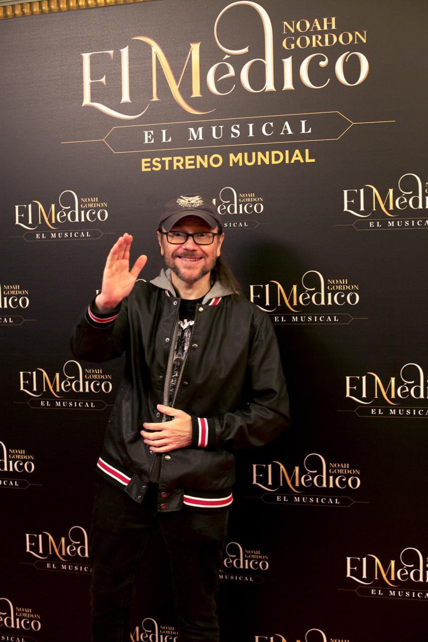 Santiago Segura, en el estreno de El Médico, El Musical